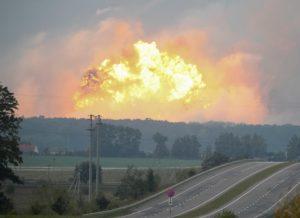 Из-за взрывов на Винничине на складах боеприпасов в Запорожской области усилилимеры безопасности