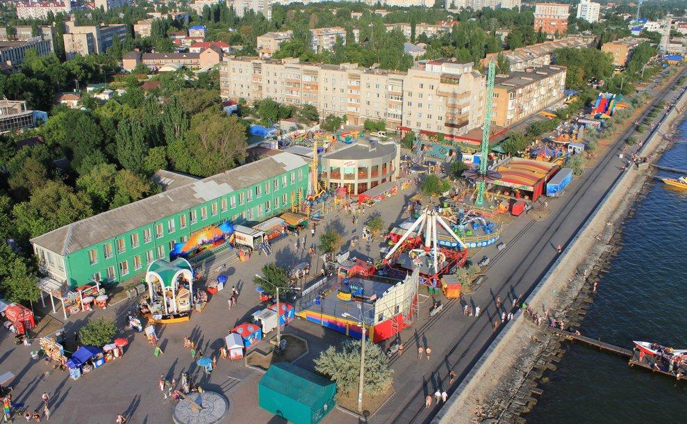 Запорожский курортный город будет шесть дней праздновать юбилей