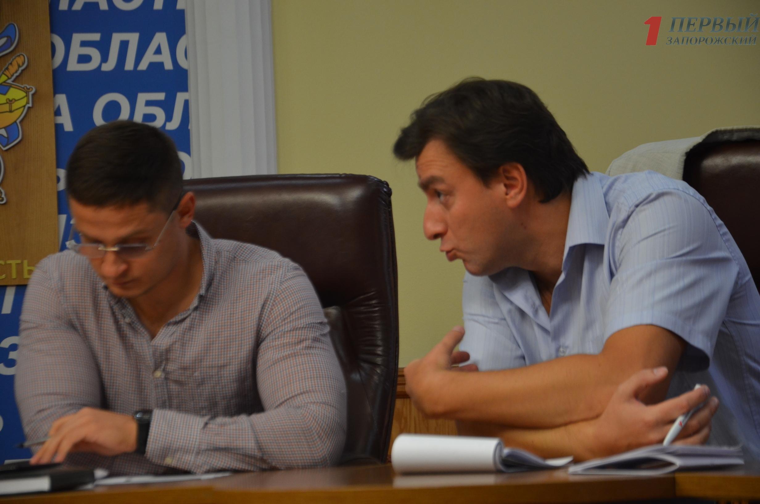 Депутаты Запорожского облсовета обсудили изменения в регламент – ФОТО