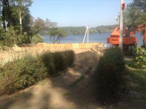 Спасательная станция, новый забор и шашлычная: как на Кичкасе облагораживают пляж за 7 миллионов гривен - ФОТО