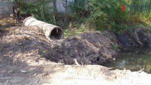 В Запорожье спасают от ила и расчищают русло реки Верхняя Хортица - ФОТО