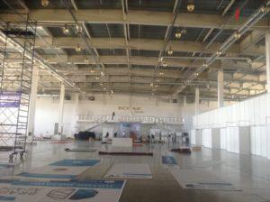 В выставочном центре «Козак-палац» полным ходом идет подготовка к проведению IT-форума 2017