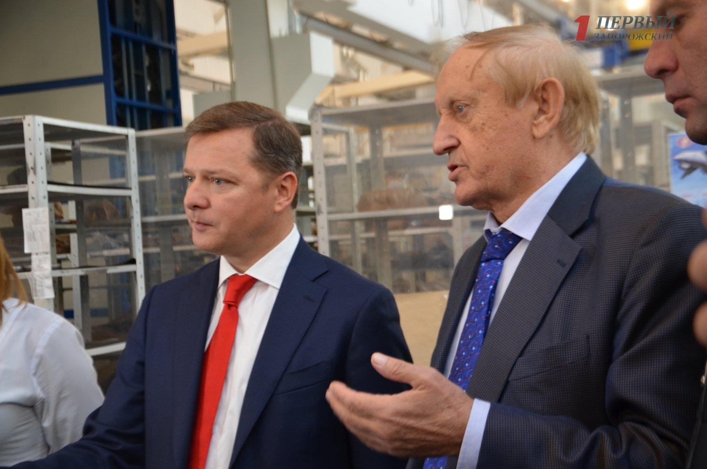 Богуслаев пожаловался Ляшко на отсутствие государственных заказов в «Мотор Сичи» - ФОТО