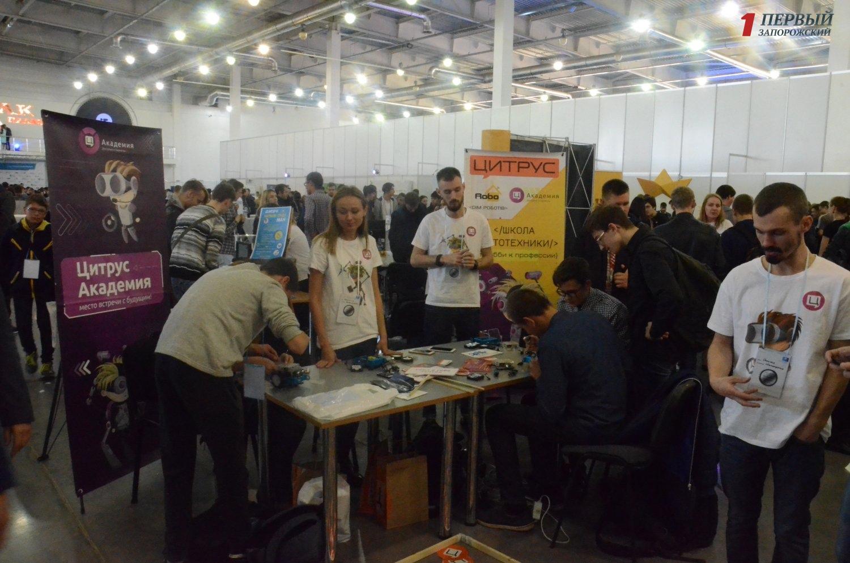 Роботы, реклама на дронах и новые приложения: как в Запорожье проходит выставка робототехники - ФОТО, ВИДЕО