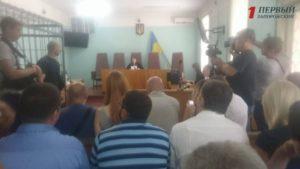 Комиссарову избрали меру пресечения: зал скандировал