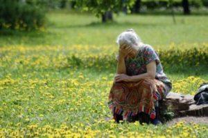 Запорожские патрульные отыскали потерявшуюся в лесу пенсионерку - ФОТО
