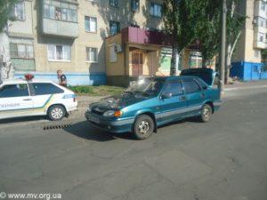 В Запорожской области пьяная автолeди устроила ДТП и сбежала с места происшествия - ФОТО