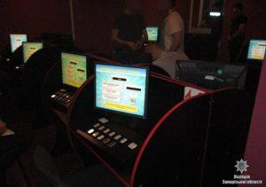 В Запорожье обнаружили сразу пять подпольных игротек - ФОТО