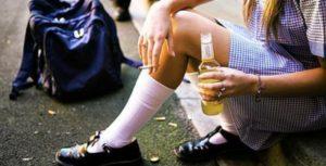 В Запорожской области скорая госпитализировала пьяную 11-летнюю девочку