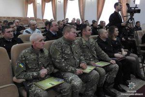 Запорожские полицейские получили заслуженные награды - ФОТО