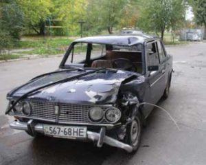 В Запорожской области водитель на угнанном авто сбил велосипедиста – ФОТО