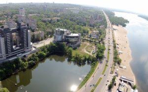В Запорожье на Набережной на двое суток перекроют движение транспорта