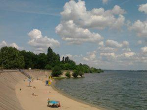 В Запорожье реконструкция Правобережного пляжа затянется на два года