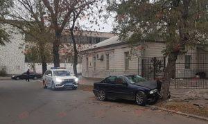 В Запорожской области автомобиль