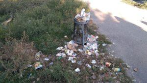 Запорожские активисты инициировали сбор подписей к городским властям с целью решить проблему с мусором - ФОТО