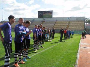 В Запорожье состоялся первый в Украине Кубок по футболу объединенных громад - ФОТО