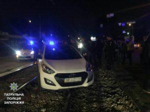 В Запорожье ночью водитель-наркоман сбил пешехода - ФОТО
