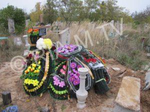 В Запорожской области в раскуроченной могиле совершили подхоронение - ФОТО