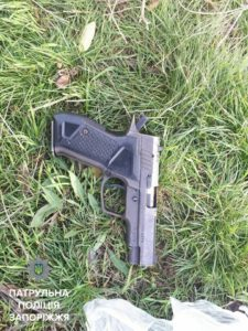 В Запорожье задержали вооруженного парня - ФОТО