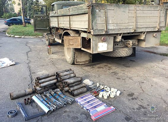 Запорожец разворовывал металл с промышленного предприятия - ФОТО