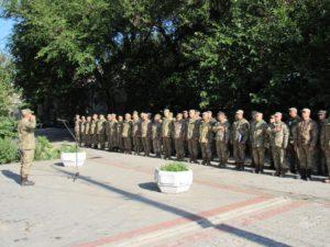 Запорожских военнослужащих отправили в зону АТО - ФОТО