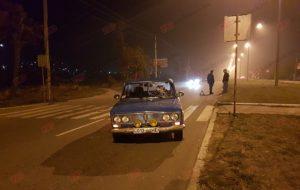 В Запорожской области на пешеходном переходе сбили мужчину - ФОТО