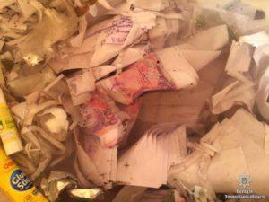 В Запорожской области задержали группу фальшивомонетчиков - ФОТО