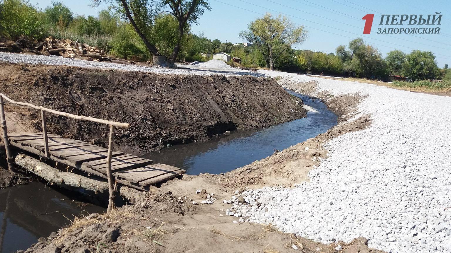 Запорожские депутаты выделили еще 3 миллиона гривен на расчистку реки Верхняя Хортица
