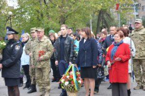 В Запорожье проходит торжественный митинг в честь Дня Защитника Украины - ФОТО, ВИДЕО