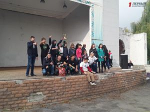 В Запорожье студенты провели квест, посвященный противодействию торговли людьми - ФОТО, ВИДЕО