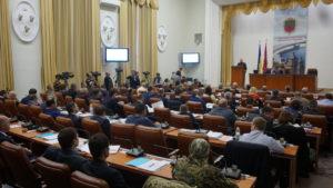 Запорожские депутаты собрались на октябрьскую сессию городского совета