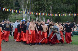 В Запорожье казаки сошлись в боях
