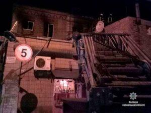 Полиция возбудила уголовное дело по факту смертельного пожара в хостеле в Запорожье