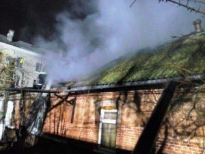 В Запорожской области произошел пожар в многоквартирном доме рядом с ж/д вокзалом - ФОТО