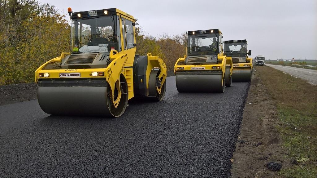 ремонт дороги Борисполь-Днепр — Запорожье (через Кременчуг)