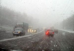 Запорожских водителей предупреждают об ухудшении погодных условий