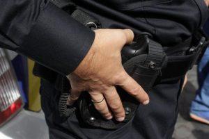 В Запорожской области остановили вооруженного водителя - ФОТО