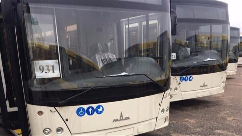 В Запорожье приехали новые автобусы большой вместимости