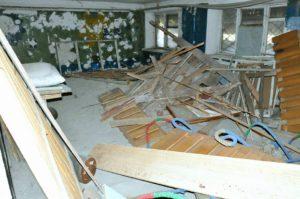 В Запорожье возрожденная секция бокса нуждается в ремонте – ФОТО