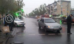 В Запорожской области на пешеходном переходе сбили подростка - ФОТО