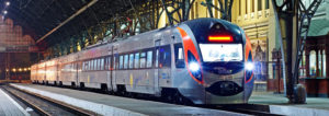 На новогодние праздники назначили дополнительные рейсы скоростного поезда из Киева в Запорожье