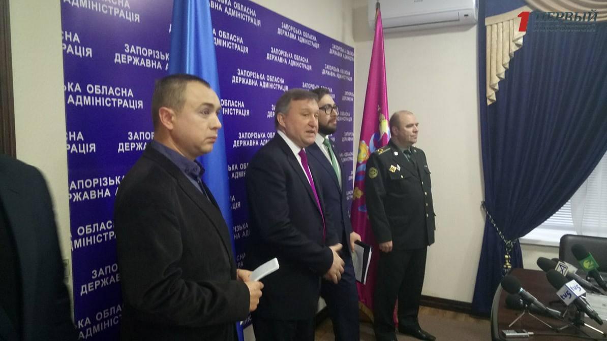 Глава представительства НАТО в Украине посетил Запорожье - ФОТО