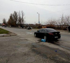 В Хортицком районе Запорожья произошло тройное ДТП - ФОТО