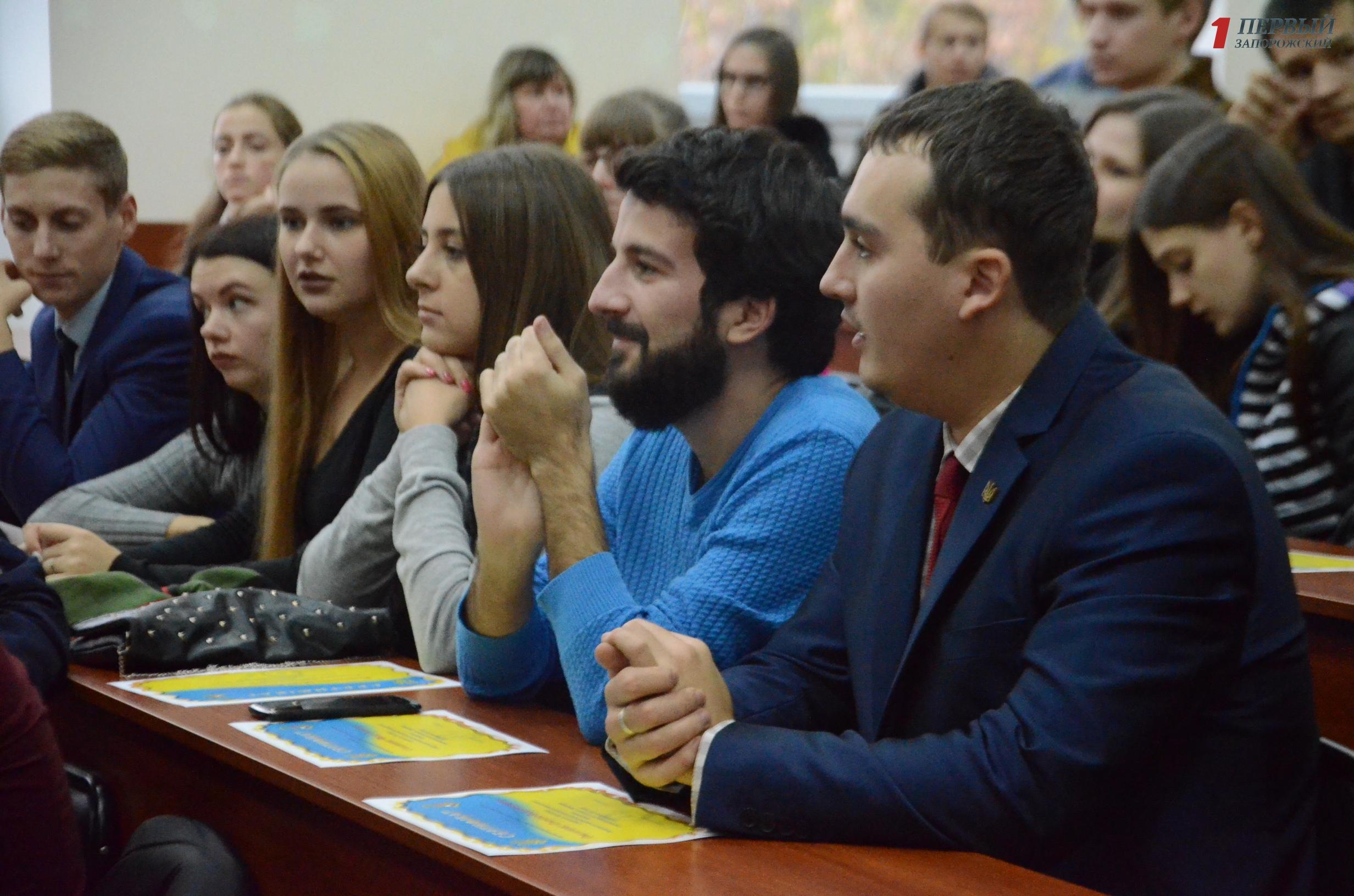 В Запорожье наградили лучших студентов ЗНТУ  - ФОТО