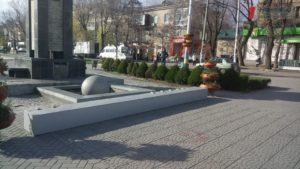С бульвара Шевченко забрали инсталляцию с признанием в любви к городу - ФОТО
