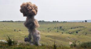 Вчерашние взрывы в Запорожье связаны с уничтожением боеприпасов