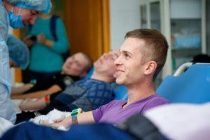 Донорский марафон по сбору крови в облбольнице бьет рекорды – ФОТО
