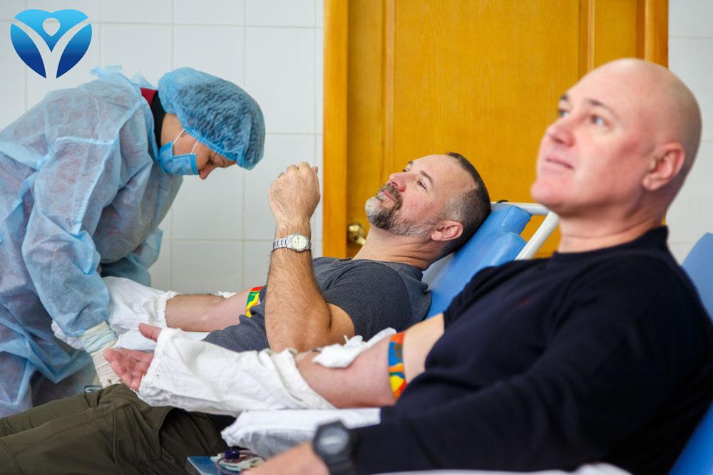 Активисты, медики и экозащитники внесли свой вклад в донорский марафон - ФОТО
