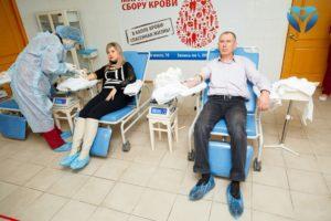 Донорский марафон облбольницы объединил крупные предприятия Запорожья - ФОТО