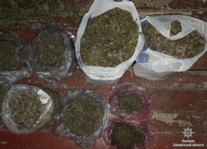 В доме у жителя Запорожской области правоохранители нашли 5 килограмм марихуаны – ФОТО